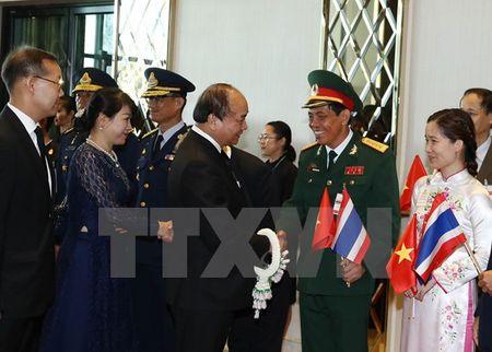 Thu tuong Nguyen Xuan Phuc va phu nhan tham Thai Lan - Anh 3