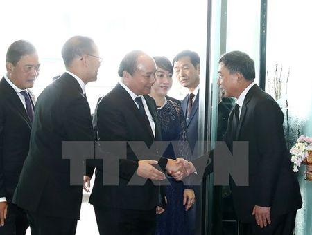 Thu tuong Nguyen Xuan Phuc va phu nhan tham Thai Lan - Anh 5