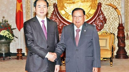 Chu tich nuoc Tran Dai Quang gui dien mung - Anh 1