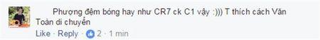 Cong Phuong giong CR7 tu dut diem den cach an mung - Anh 5