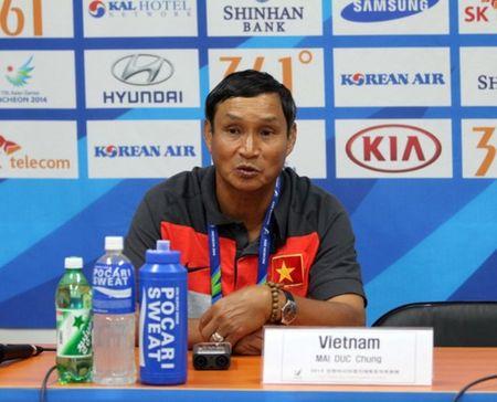 Thang tran, HLV Mai Duc Chung van khong hai long ve hoc tro - Anh 1