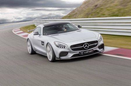 Mercedes-AMG GT len doi dang cap xe dua Luethen - Anh 4