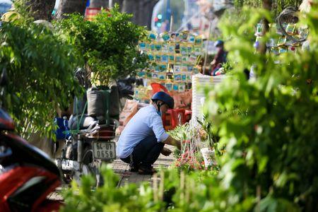 Dong loat xa hang truoc ngay tra dat quoc phong o Tan Son Nhat - Anh 12