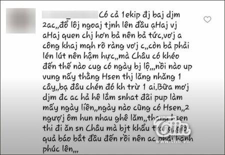 Ly Phuong Chau noi moi yeu Hien Sen sau ly hon Lam Vinh Hai nhung loat tin nhan nay to cao dieu nguoc lai - Anh 3