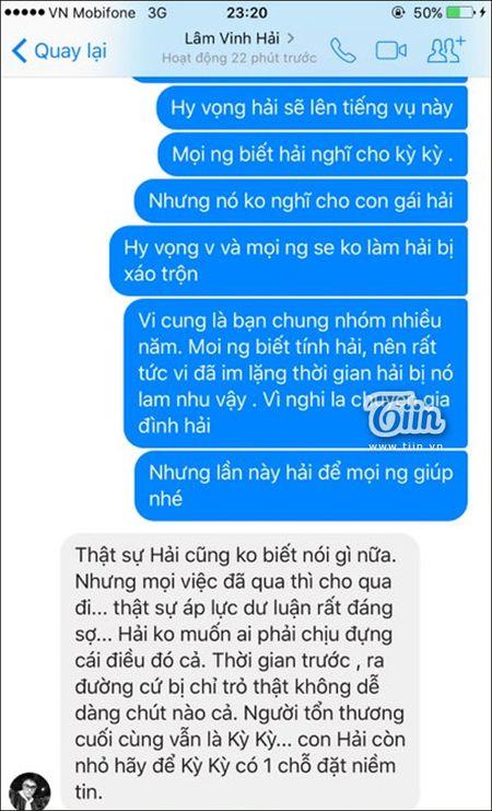 Ly Phuong Chau noi moi yeu Hien Sen sau ly hon Lam Vinh Hai nhung loat tin nhan nay to cao dieu nguoc lai - Anh 5