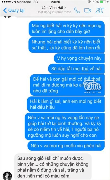 Ly Phuong Chau noi moi yeu Hien Sen sau ly hon Lam Vinh Hai nhung loat tin nhan nay to cao dieu nguoc lai - Anh 6
