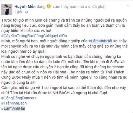 Ly Phuong Chau noi moi yeu Hien Sen sau ly hon Lam Vinh Hai nhung loat tin nhan nay to cao dieu nguoc lai - Anh 8