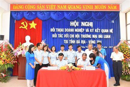 Hai quan Ba Ria- Vung Tau doi thoai voi doanh nghiep Dai Loan - Anh 1