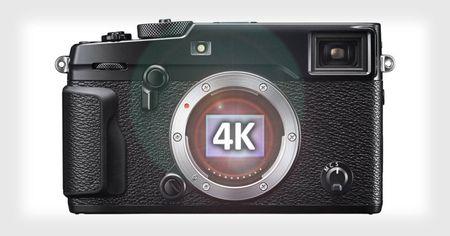 Fujifilm X-Pro2 sap cap nhat tinh nang quay video 4K? - Anh 1