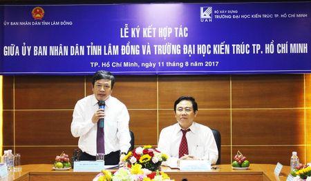 Truong Dai hoc Kien truc TP.HCM hop tac voi tinh Lam Dong - Anh 1