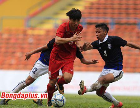 Cong Phuong lap cu dup, U22 Viet Nam thang tran thu hai - Anh 2
