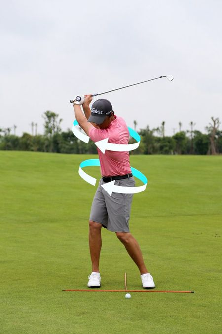 Don luc backswing va downswing - Anh 1