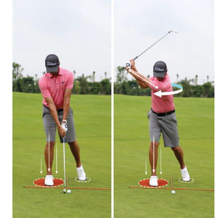 Don luc backswing va downswing - Anh 3