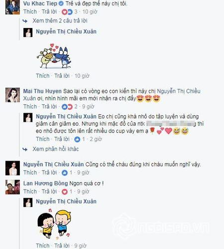 NSUT Chieu Xuan so huu vong eo 'thach thuc' Ngoc Trinh o tuoi 50 - Anh 6
