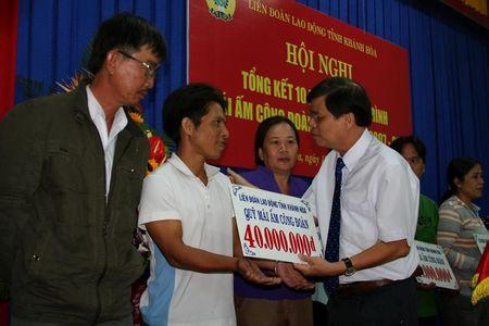 8,5 ty dong tu Mai am Cong doan xay, sua nha cho 700 cong nhan lao dong - Anh 1