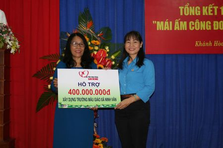 8,5 ty dong tu Mai am Cong doan xay, sua nha cho 700 cong nhan lao dong - Anh 2