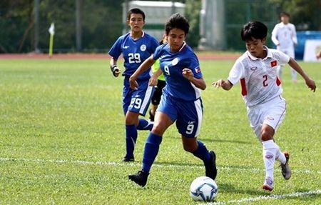 Doi tuyen bong da nu Viet Nam khoi dau thuan loi o SEA Games 29 - Anh 1