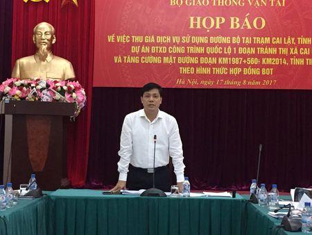 Bo Giao thong hop bao ve BOT Cai Lay - Anh 1