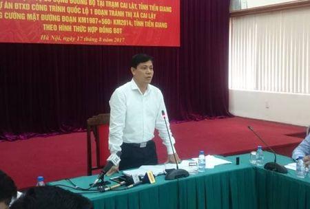Chuyen tram thu phi Cai Lay se 'do be phuong an tai chinh' - Anh 2