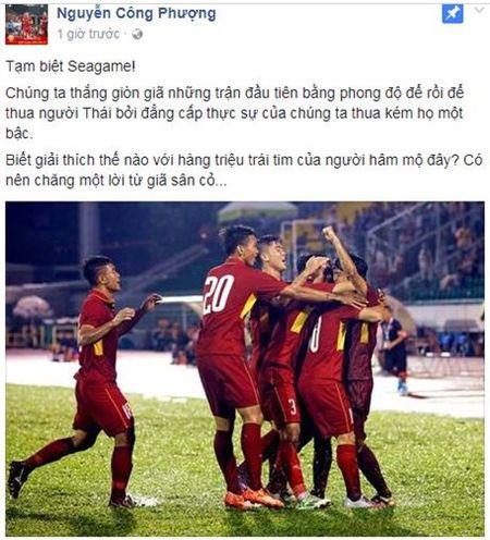Su that chuyen Cong Phuong giai nghe sau that bai SEA Games 29 - Anh 2