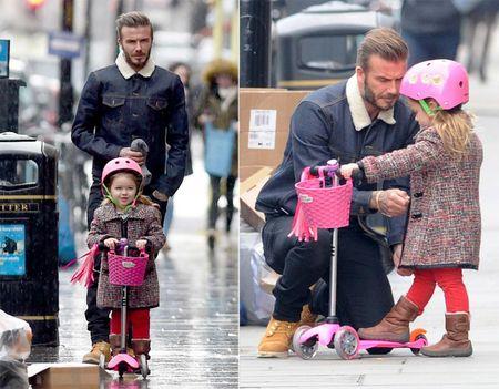 David Beckham chap nhan 'lui ve hau cung' thay vo cham soc gia dinh - Anh 18