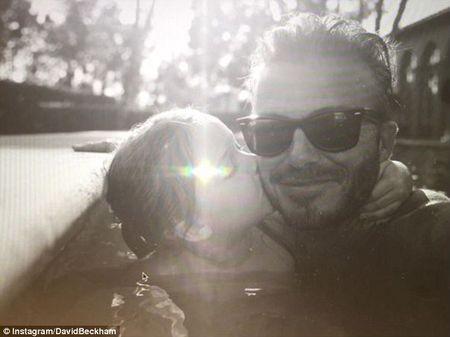 David Beckham chap nhan 'lui ve hau cung' thay vo cham soc gia dinh - Anh 19