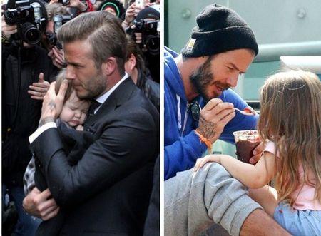 David Beckham chap nhan 'lui ve hau cung' thay vo cham soc gia dinh - Anh 20