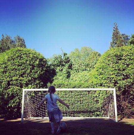 David Beckham chap nhan 'lui ve hau cung' thay vo cham soc gia dinh - Anh 22