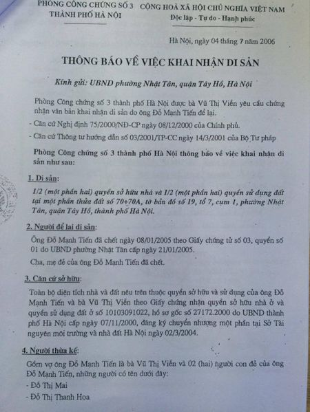 Vu con dau 'khai tu' bo me chong: So Tu phap Ha Noi vao cuoc - Anh 1