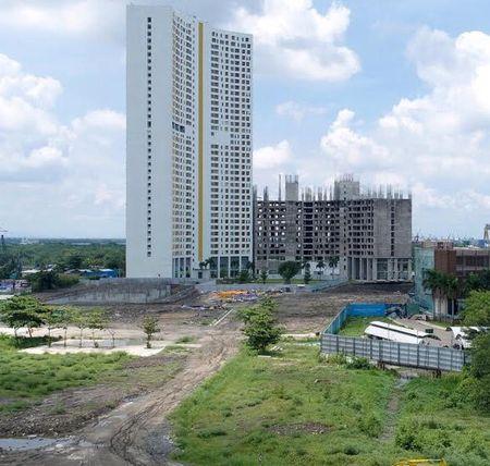 Du an River City cua Phat Dat cham tien do - Anh 1
