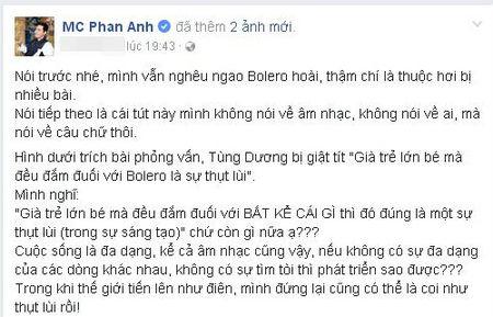 MC Phan Anh: 'Gia tre lon be dam duoi voi bat ke cai gi thi la su thut lui' - Anh 1
