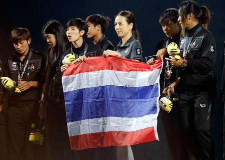 Nu Viet Nam gianh HCV SEA Games, Thai Lan 'chet lang' do le nhu mua - Anh 1