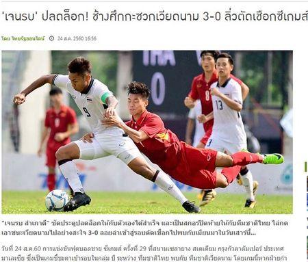 U22 Viet Nam thua tham: Bao Thai ha he, SEA Games rung dong - Anh 2