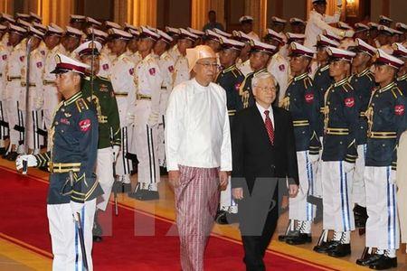 Thiet lap quan he doi tac hop tac toan dien Viet Nam - Myanmar - Anh 1