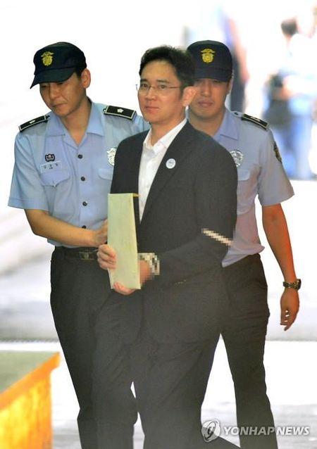 """Thai tu"" Samsung Lee Jae-yong bi ket an 5 nam tu - Anh 2"
