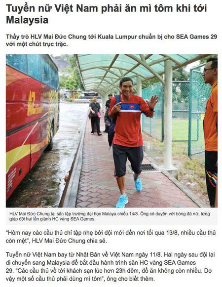 Bong da Viet o SEA Games 29: Thanh hay bai la deu tai... my tom - Anh 2