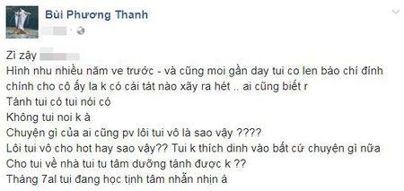 Phuong Thanh noi gi ve tin don tat Ho Ngoc Ha vi danh ghen ho Thu Phuong? - Anh 1