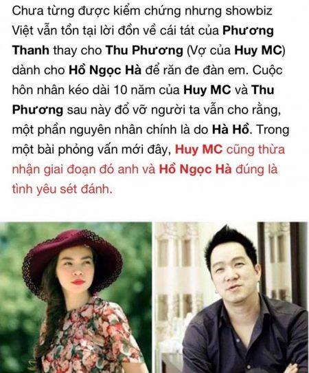 Phuong Thanh noi gi ve tin don tat Ho Ngoc Ha vi danh ghen ho Thu Phuong? - Anh 2