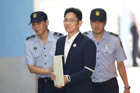 Nguoi thua ke Samsung Lee Jae-yong bi ket an 5 nam tu - Anh 1