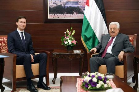 Xung dot Israel-Palestine: tin hieu 'mo mit' tu cha, con Tong thong Trump - Anh 2