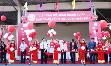 Coca-Cola Viet Nam hoan thanh du an dau tu mo rong - Anh 1
