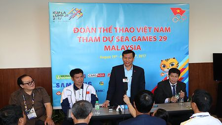 Bo truong Bo VH, TT&DL gui thu chuc mung VDV SEA Games 29 - Anh 1