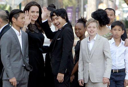 Angelina Jolie muon quay lai nhung Brad Pitt khong chut hung thu - Anh 1