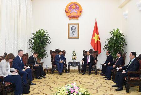 Thu tuong Nguyen Xuan Phuc tiep Bo truong Ngoai giao Ukraine - Anh 3