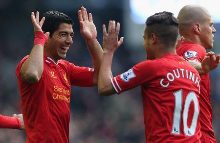 Chuyen nhuong trong mo: Suarez ve lai Liverpool, tai sao khong? - Anh 2