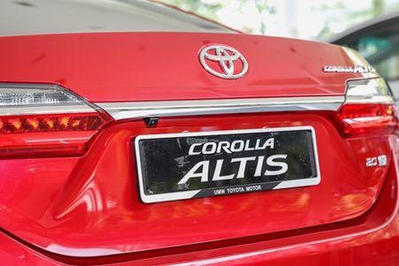 Toyota Corolla Altis 2017 'chot gia' tu 638 trieu dong - Anh 5