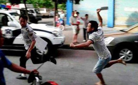 Phu Xuyen: Con do xong vao benh vien - Anh 1