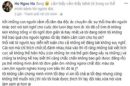 Bi 'nem da' vi deo khau trang tu thien, Ha Ho thach thuc: Thich thi tay doi nao? - Anh 3