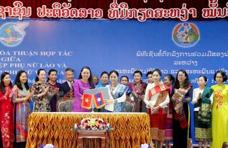 Trung uong Hoi Lien hiep Phu nu Viet Nam va Lao tang cuong hop tac - Anh 1