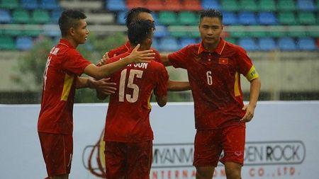 Doi tuyen U18 Viet Nam tao 'con mua ban thang' truoc U18 Brunei - Anh 1